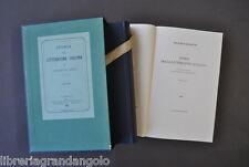 Storia Letteratura Italiana De Sanctis Napoli 1870 Gallo Sapegno Einaudi 1962
