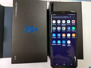 Samsung Galaxy S9+ SM-G965F - 64 Go - Noir Carbone  (Désimlocké) (Double SIM)