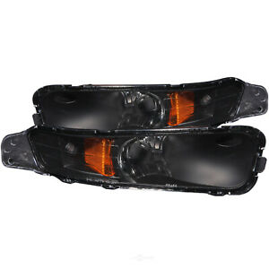 Turn Signal Light Assembly-with amber Reflector Black fits 2005 Ford Mustang