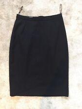 Dolce Gabbana Black Pencil Skirt