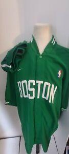 Larry Bird Celtics Nike Team  Warm-Up Jacket/ Jersey 3XL Shirt &  Pants 2XL