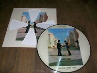 PINK FLOYD RARE PICTURE WISH YOU WERE HERE USA POCHETTE DECOUPEE