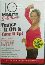 NEW - 10 Minute Solution: Dance It Off & Tone It Up Kit w/ Bands, Free Shipping!
