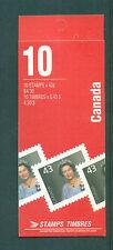 Canada 1994 10 x 43c Queen Elizabeth 1360a pane Booklet