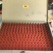 Doall Plug Pin Gauge Set 061 250 Minus Complete In Excellent Condition