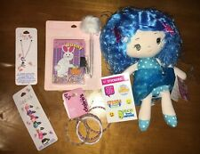 Claire's Easter Bunny Diary Necklace Icecream Rings Doll Justice Sticker Nwt