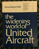 United Aircraft Corporation Annual Report - 1974