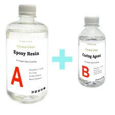 1kg Crystal Clear Epoxy Resin General Purpose - Low Viscosity - UV Resistant