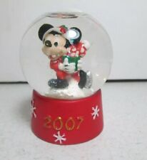 Disney 2007 Christmas Mickey Mouse Mini Snow Globe Jc Penney Black Friday Gift
