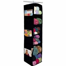 Craft Organizer Knitting Shelf Yarn Holder Storage Crocheting Closet Space Saver