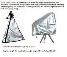 """Telescope Cover Set for 6"""" - 8"""" Reflector with Tripod set up ( 2 covers)"""