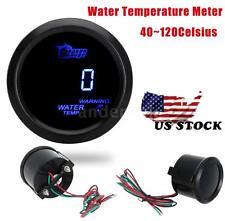 Digital Water Temp Gauge Temperature Meter W/ Sensor For Car 52mm 2inch US SOTCK