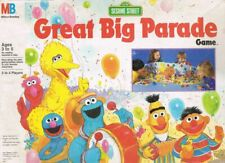 Great Big Parade Sesame Street Game Milton Bradley 1989 Replacement Parts Pieces