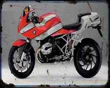 Bmw R1200S 06 3 A4 Photo Print Motorbike Vintage Aged