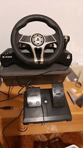 Xtreme HURRICANE Volante con Pedaliera per PlayStation 4 - Nero