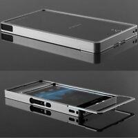 Sony Xperia Z CNC Aluminium Case Metall Bumper Cover Hülle Alu silber Schutz