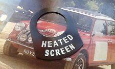 Mini Cooper S Classique BMC MPI Rally Chauffé écran Commutateur Surround œuvres rares 997