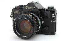 *EXC+++++* Canon A-1 35mm SLR Black w/ FD 50mm f/1.4 S.S.C.Lens  From Japan #203