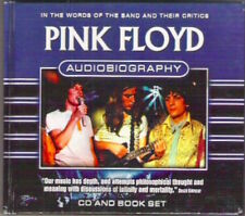 AUDIOBIOGRAPHY Pink Floyd CD & Book set Band members & critics Rare Collectable