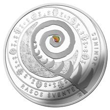 Lithuania 5€ euro coin 2018 dedicated to Joninės (Rasos) PROOF