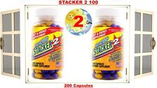2X Stacker2 2 100 Capsules/Bottle World Most Strongest Fat Burner (2X) 08/2021