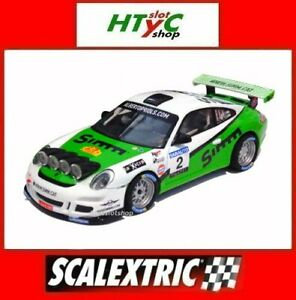 Scalextric Advance Porsche 911 GT3 #2 Rally 2013 Orriols Pujolar Scx E10332S300