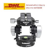 Buddiesman VH-3III 2 Way Pan/Tilt Head Panoramic Tripod Head Bird Watching Head