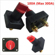 12V 100A CAR BOAT CAMPER BATTERY ISOLATOR DISCONNECT CUT OFF POWER KILL SWITCH