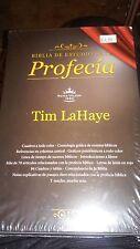 Biblia de estudio de la profecia - Tim LaHaye - Tapa negra imitacion