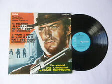 ENNIO MORRICONE ~ A FISTFUL OF DOLLARS... ~ RCA 1970 UK VINYL LP ~ PLAYS WELL