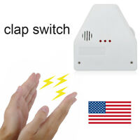 110V The Clapper Sound Activated On/Off Switch by Hand Clap Electronic Gadget