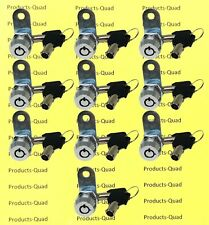 10 Keyed Alike Nonretaining 58 Tubular Cam Lock Rv Camper Cabinet Toolbox