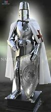 Medieval Knight Templar Plates Armor Suit Battle ready Life Size armor suit
