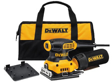 DEWALT Palm Sander, 1/4 Sheet (DWE6411K) NEW - FREE SHIP...