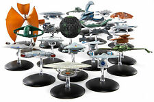 Star Trek Raumschiff Modelle Metall Eaglemoss TNG Voyager DS9 Enterprise Magazin