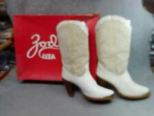 WOMEN'S  ZODIAC COW GIRL BOOTS SIZE 6 1/2 M SLIGHTLY USED  N/R