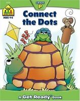 Preschool Workbooks 32 Pages-Connect the Dots (Get Ready Books) by Barbara Grego