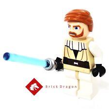 Lego Star Wars Obi-Wan Kenobi (Clone Wars) from sets 7931,9525,7676