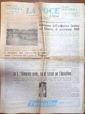 LA VOCE DI SALERNO 16 giugno 1968 Centrale del latte di Salerno Bob Kennedy di e