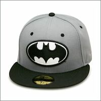 60362f93798 New Era Batman Fitted Hat GREY BLACK dark knight suicide squad joker DC  comics
