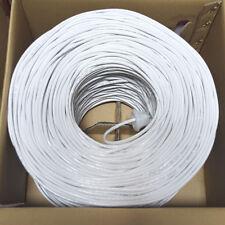 CAT5E Cable 1000FT UTP Solid Network Ethernet CAT5 Bulk Wire RJ45 Lan On Sale