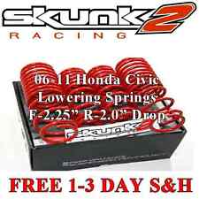 519-05-1580 Skunk 2 Lowering Springs 06-10 Honda Civic DX EX LX Si -2.25F -2.00R