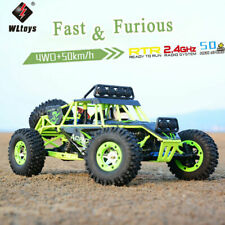 USA Wltoys 1/12 2.4G 4WD Electric Brushed Crawler RTR RC Car High Speed Off-Road