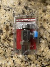 Lasco Water Supply Valve 06-9249 1/4 turn, 1/2 Coccyx Inlet, 3/8 Compact