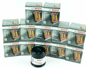 Set of 12 Genuine Bosch 3300 Premium Spin-On Engine Oil Filters Free Shipping