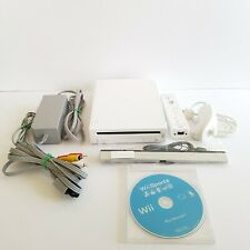Nintendo Wii and Wii Sports White Console Bundle RVL-001 GameCube TESTED