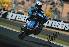 Romano Fenati mano firmato FOTO 12X8 VR46 TEAM KTM MOTO3 2015 4.
