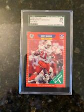 1989 PRO SET #494 BARRY SANDERS ROOKIE.......SGC 96