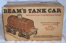 Jim Beam Tank Car Porcelain Bourbon Whiskey Regal China Decanter in Original Box
