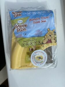 Winnie The Pooh Disney Foldable Travel Toilet Seat Toddler Potty Training